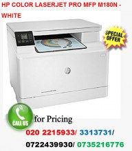 HP Color Laserjet PRO MFP M180N-White